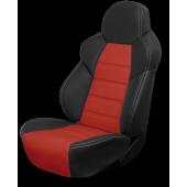 Универсальный авточехол RECARO, чёрный-красный
